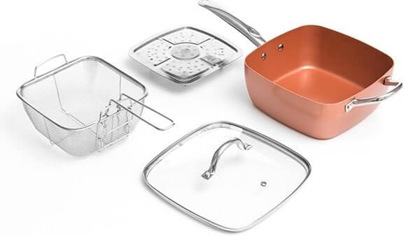 set copper confezione